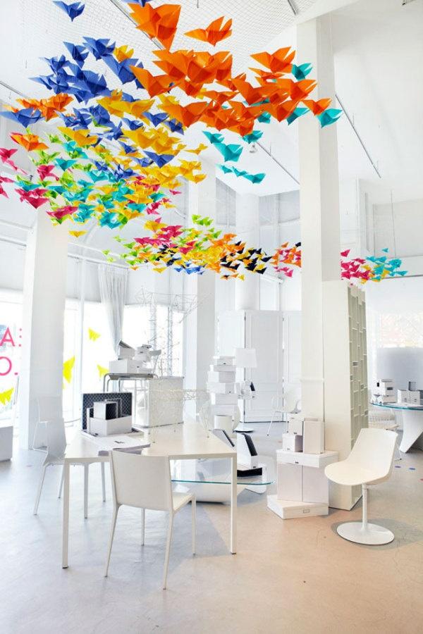 Origami dral u enterijeru we love design we love design for We love design