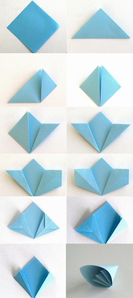 Cvetovi od papira origami tehnika we love design we for We love design