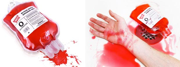 Blood Bath Shower Gel I Zavesa Za Kadu