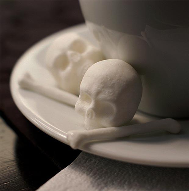 Sugar design lobanje i kosti u olji kafe we love for We love design
