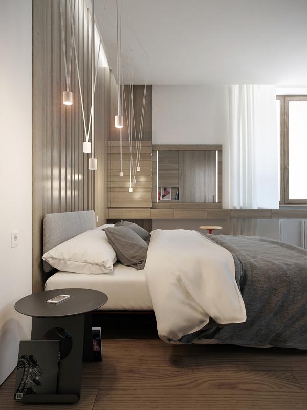 Enterijer spavaće sobe