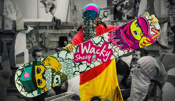 Wacky Snowboard